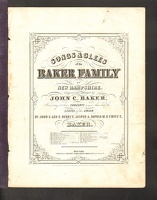 1845 Crimson Banner The Baker Family Of NH John C Baker