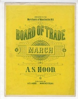 1891 Board of Trade March A S Hood Manchester NH