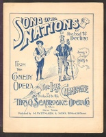 1892 Song Of All Nations Or She Had To Decline from The Isle Of Champagne