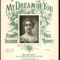 1895 My Dream Of You Louise Willis Henry Vaughan Paul Rodney