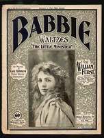 1897 Babbie Waltzes from The Little Minister William Furst