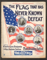 1898 Flag That Has Never Known Defeat Charles Love Benjamin Geo Davison Sutton Mary Dowling Sutton