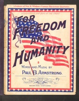 1898 For Freedom And Humanity Paul B Armstrong Chicago IL