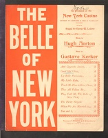 1898 Good Old Glory from The Belle Of New York Hugh Morton Gustave Kerker