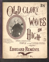 1898 Old Glory Waves On High Edouard Remenyi
