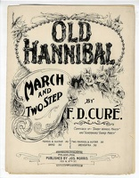 1898 Old Hannibal March And Two Step F D Cure Philadelphia PA