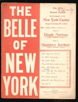1898 They All Follow Me from The Belle Of New York Hugh Morton Gustave Kerker