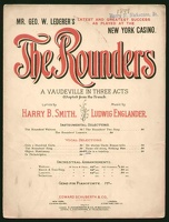 1899 Life Is A Toyshop from The Rounders Harry B Smith Ludwig Englander