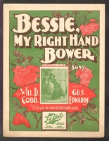 1901 Bessie My Right Hand Bower Mamie Gehrue Will D Cobb Gus Edwards