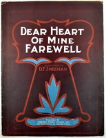 1901 Dear Heart Of Mine Farewell E S Fisher D F Sheehan