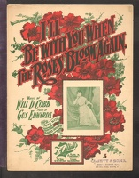 1901 I'll Be With You When The Roses Bloom Again Will D Cobb Gus Edwards