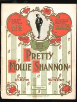 1901 Pretty Molly Shannon from The Little Duchess Anna Held Geo H Ryan Walter Wolff
