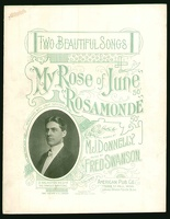 1901 Rosamonde My Rose Of June D'Arlington Reohr M J Donnelly Fred Swanson St Paul MN