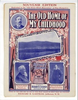1901 The Old Home Of My Childhood Richard B Eastman Jefferson NH