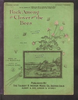 1902 Back Among The Clover And The Bees C H Scoggins Charles Avril Denver CO