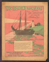 1902 Light House Song from The Defender Richie Ling Newsprint