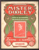1902 Mister Dooley From The Chinese Honeymoon Alexander Clark Wm Jerome Jean Schwartz