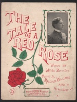 1902 Tale Of A Red Rose Hilda Brenton Malcolm Williams Providence RI