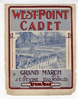 1902 West-Point Cadet Grand March J E Devine Eus Rosales