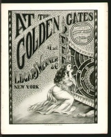 1904 At The Golden Gates Illustrated Pantomimed Song