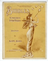 1904 Bubbles Schottisch Intermezzo J D Young Kate Kyro Boston MA