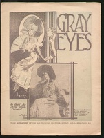 1904 Gray Eyes Inga Orner Newsprint