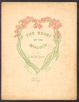 1904 Heart Of The Hyacinth Carl W Kern St Louis MO