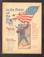 1904 In The Folds Of The Starry Flag Paul West Victor Herbert