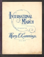 1904 International March Mary E Cummings Little Falls NY
