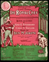 1904 Let Me Go Back from The Royal Chef Geo E Stoddard Chas S Taylor Ben M Jerome