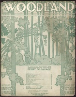 1904 Tale Of The Turtle Dove from Woodland Frank Pixley Gustav Luders