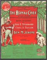 1904 What's The Matter With My Man In The Moon from The Royal Chef Ben M Jerome Amelia Stone