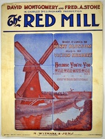 1906 Because You're You from The Red Mill B Wallis Henry Blossom Victor Herbert Version 2