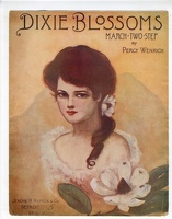 1906 Dixie Blossoms Bertha Vounos Percy Wenrich