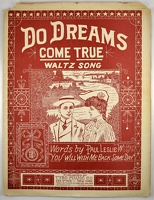 1906 Do Dreams Come True Paul Leslie