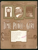 1906 Don't You Tell from The Time The Place And The Girl Will M Hough Frank R Adams Jos E Howard