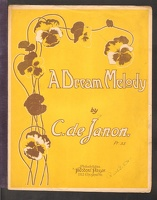 1906 Dream Melody C De Janon Philadelphia PA