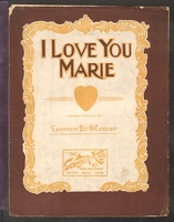 1906 I Love You Marie Lawrence B O'Connor