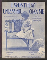 1906 I Won't Play Unless You Coax Me Jessie Mae Hall Al Trahern Lee Orean Smith