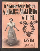 1906 If Anybody Wants To Meet A Jonah Clarice Vance Harry Hoyt