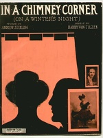 1906 In A Chimney Corner On A Winter's Night Katie Barry Andrew Sterling Harry Von Tilzer