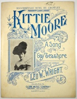 1906 Kittie Moore A Song Of The Gay Seashore Crowley Leo W Wright Philadelphia PA