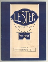 1906 Lester March And Two-Step Will Hardy