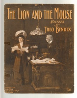 1906 Lion And The Mouse Theo Bendix