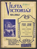 1906 Poor John Vesta Victoria Leigh And Pether