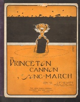 1906 Princeton Cannon Song-March J F Hewitt A H Osborn