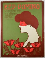 1906 Red Domino Gene Buck S R Henry