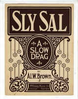 1906 Sly Sal Al W Brown
