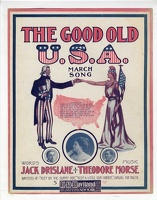 1906 The Good Old U S A Elsie Tuell Jack Drislane Theodore Morse