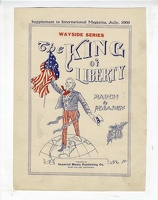 1906 The King Of Liberty A E Basney Port Huron MI